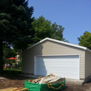 minneapolis mn garage construction