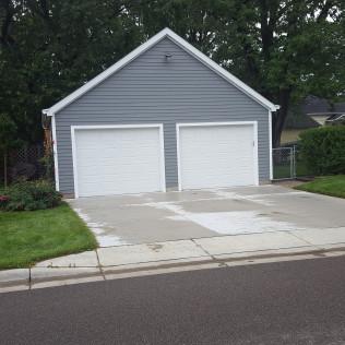 minneapolis mn residential garages